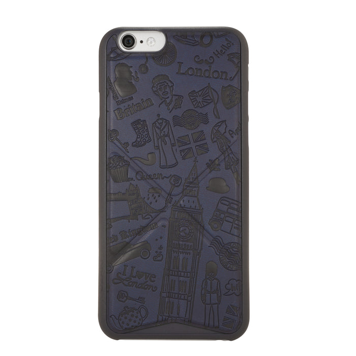 iPhone 6/6s Case, Ozaki O!Coat 0.3+ Travel Ultra Slim & Light Weight Integrated Case - ICONS