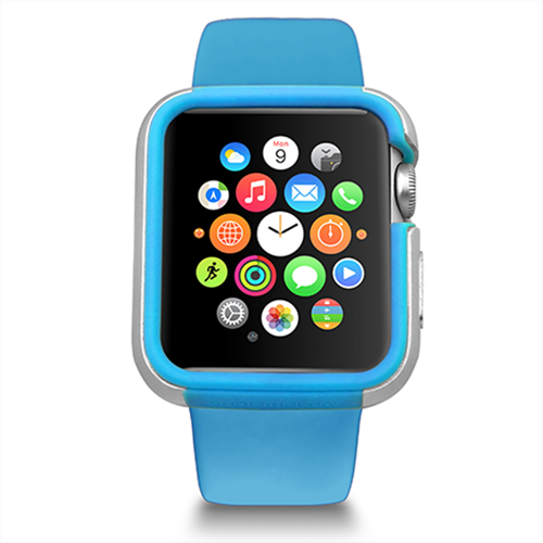 Apple Watch Case 42mm, Ozaki O!Coat Shockband - ICONS