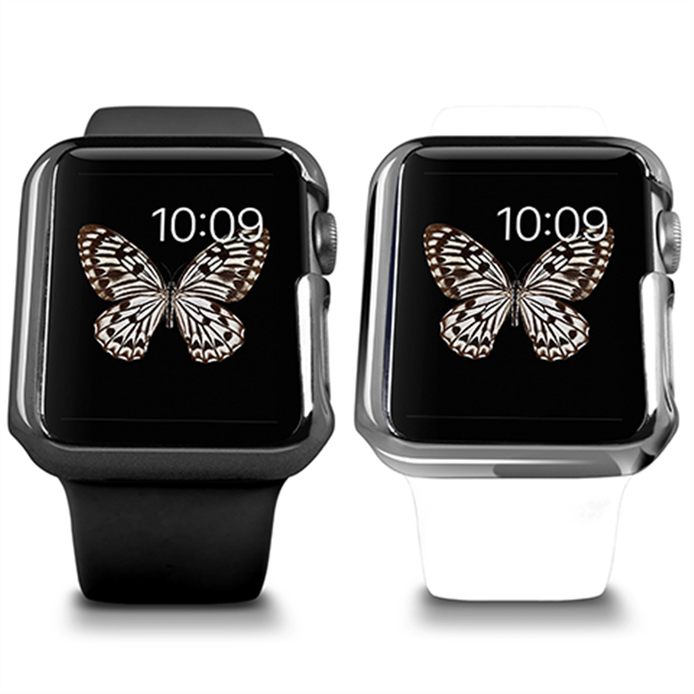 Apple Watch Case 42mm, Ozaki O!coat Wadrobe 2in1 Ultra Slim & Light Weight Case for Him & Her