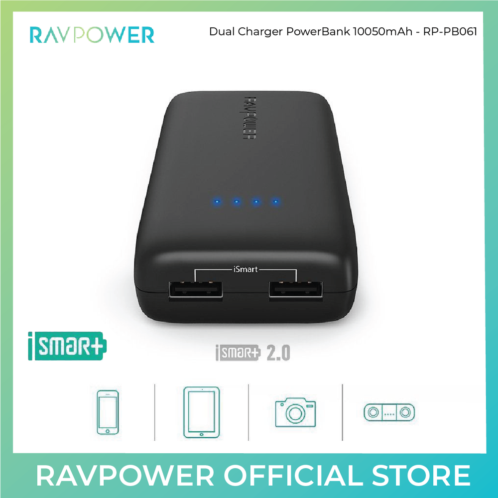 RAVPower Ace Power Bank - 12000mAh (RP-PB061) - ICONS