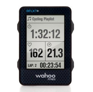 Bike Computer + Barometric + Altimeter, Fitness RFLKT+ (Black) - ICONS