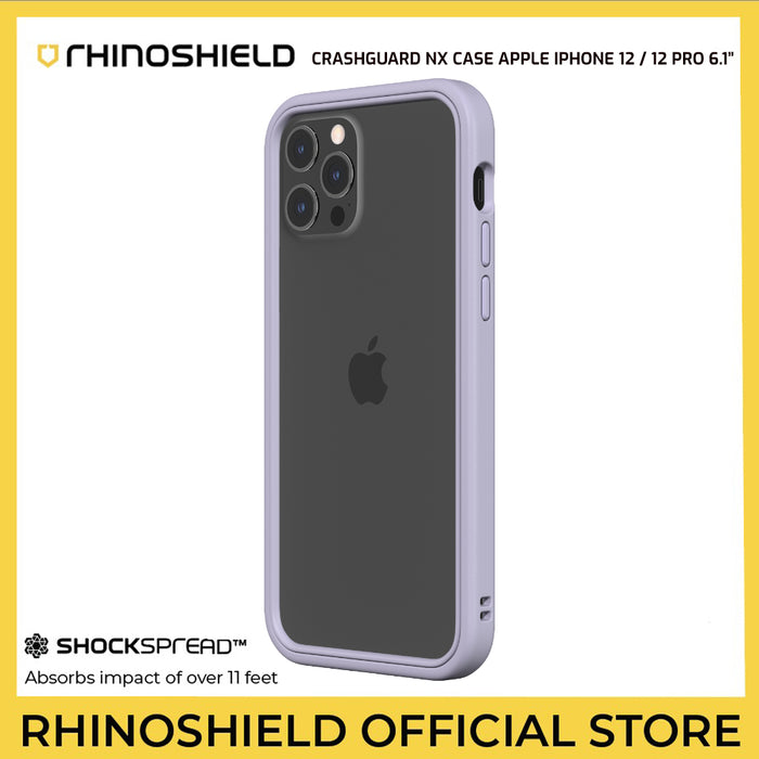 RhinoShield CrashGuard NX Case For Apple iPhone 12 / 12 Pro 6.1""