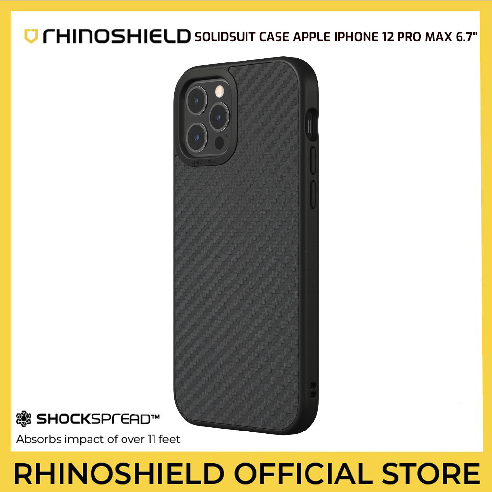 RhinoShield SolidSuit Case for Apple iPhone 12 Pro Max 6.7""