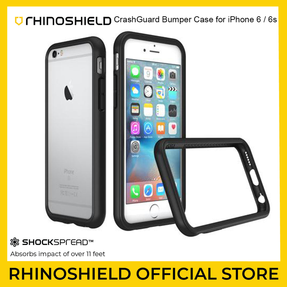 RhinoShield CrashGuard Bumper Case for Apple iPhone 6 / 6s