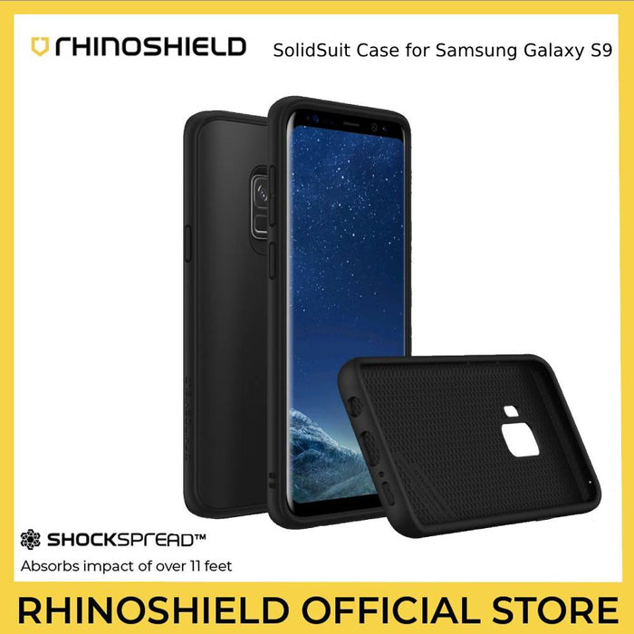 RhinoShield SolidSuit Case for Samsung Galaxy S9