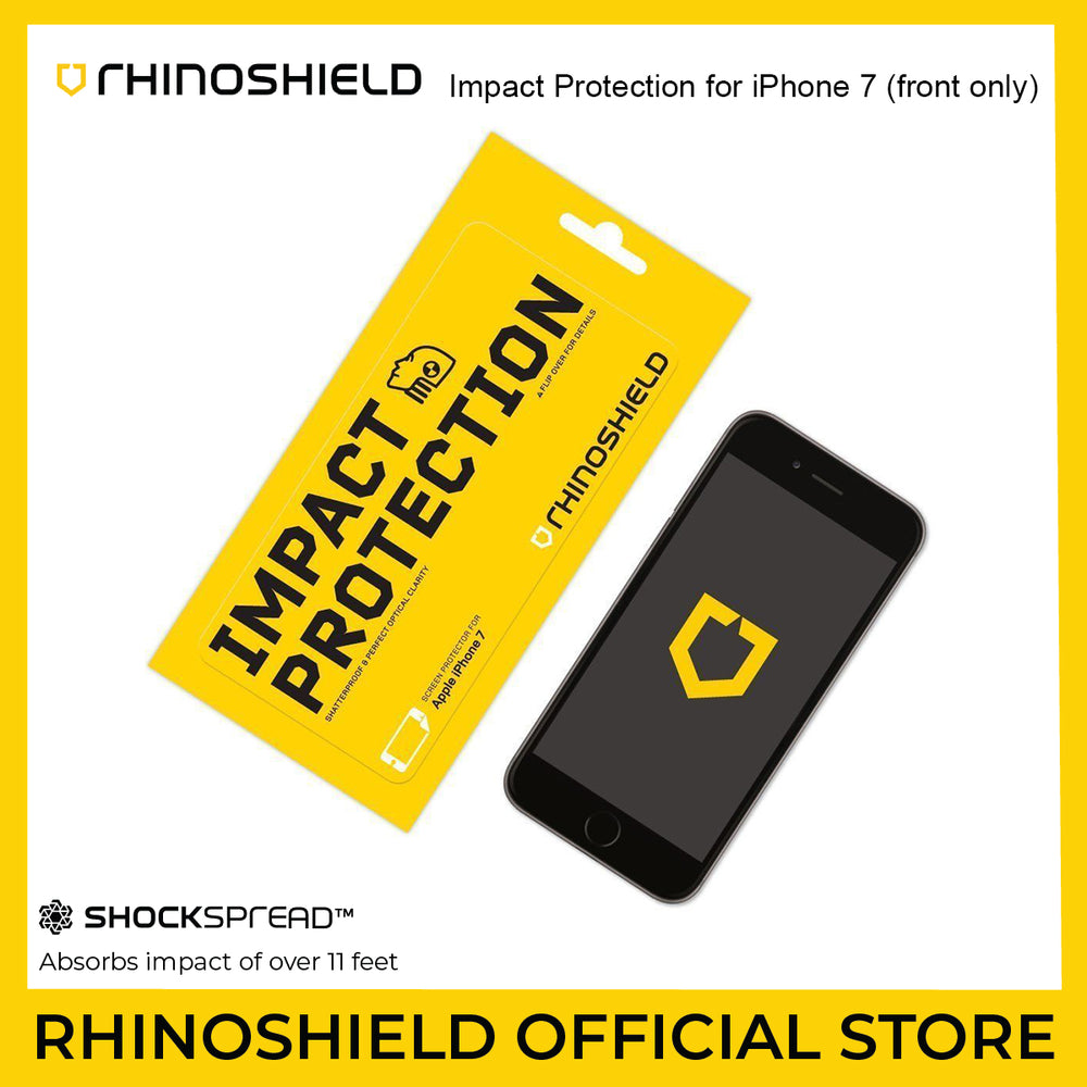 RhinoShield Impact Protection for Apple iPhone 7 (Front Only)