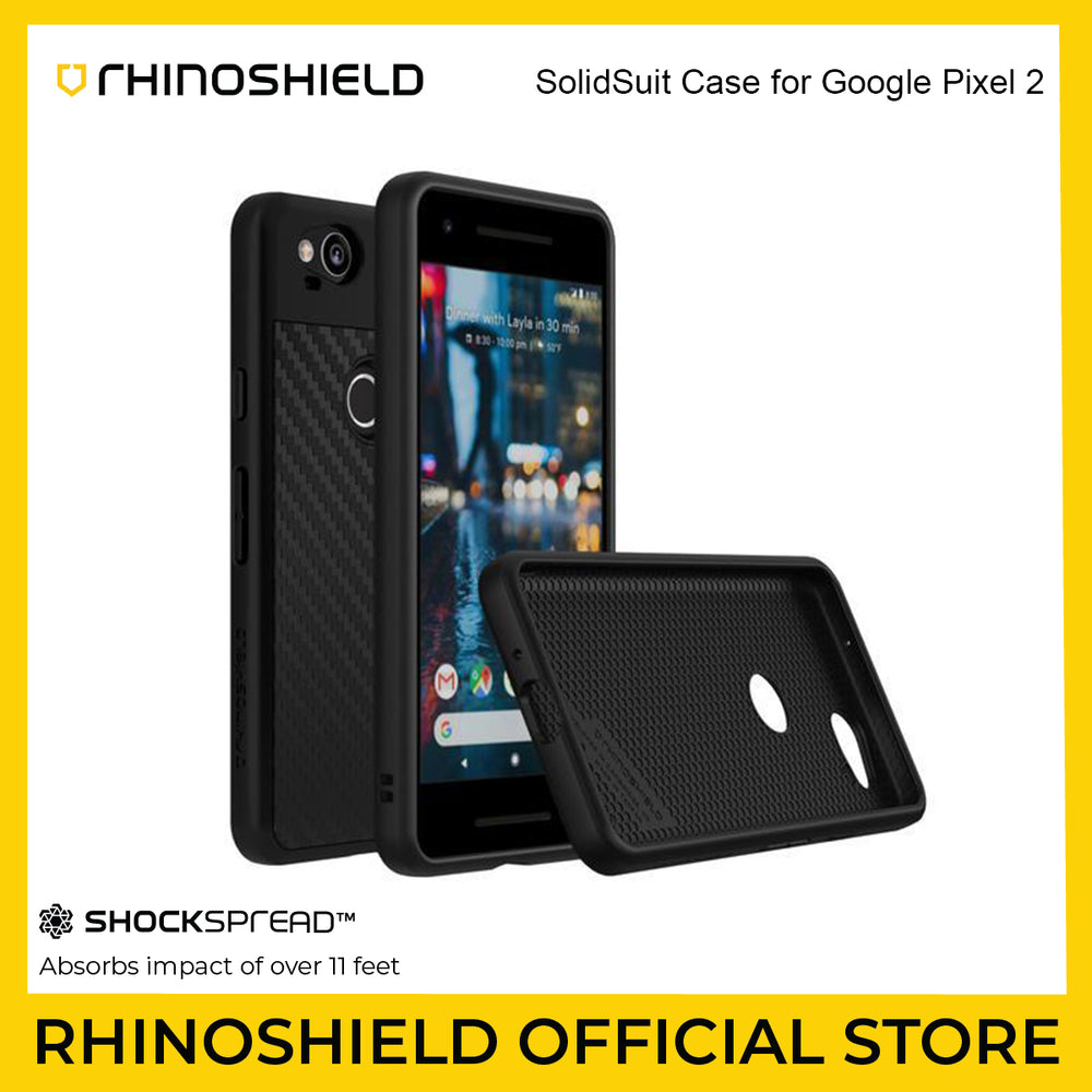 RhinoShield SolidSuit Case for Google Pixel 2