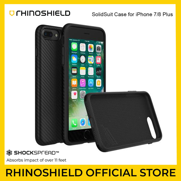 RhinoShield SolidSuit Case for iPhone 7/8 Plus
