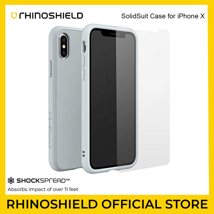 RhinoShield SolidSuit Case for Apple iPhone X