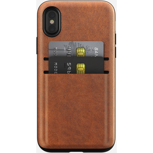 Nomad Rugged Card Case  (6Ft. Drop Tested) for Apple iPhone XS / X - ICONS