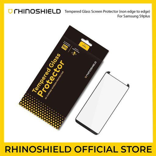 RhinoShield 9H Tempered Glass Screen Protector for Samsung Galaxy S9 Plus (Non Edge to Edge) - ICONS