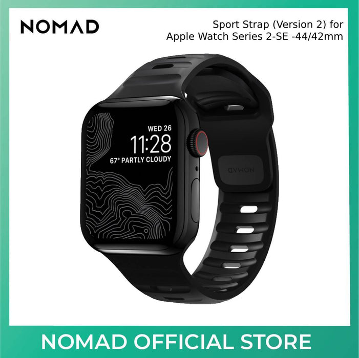 Nomad Sport Strap (Version 2) for Apple Watch Series 2-SE -44/42mm