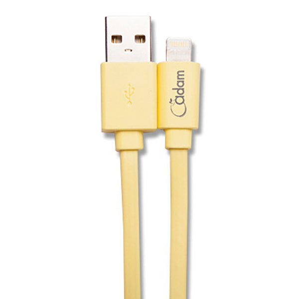 Flat Lightning Cable (Sync & Charge - Reversible USB) - 90cm *MFI - ICONS