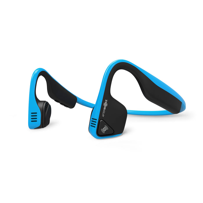 Trekz Titanium Wireless Bone Conduction Headphones - Ocean Blue - ICONS