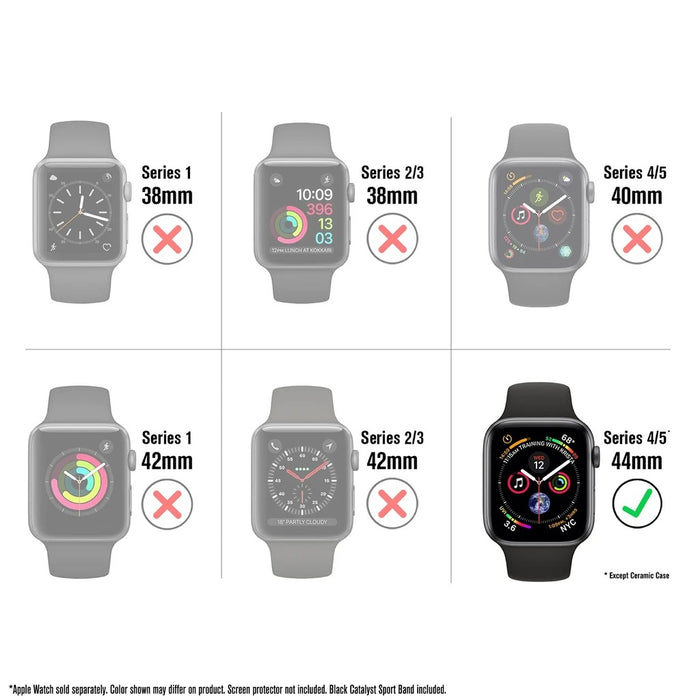 Catalyst Impact Protection Case for Apple Watch 40mm -  Series 4/5