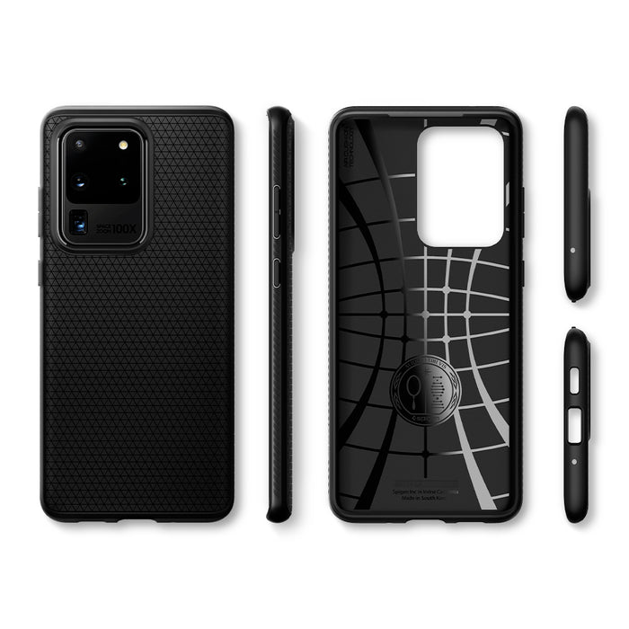 "Spigen Liquid Air Case for Samsung Galaxy S20 Ultra 6.9"" - ICONS"
