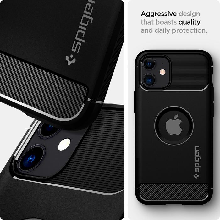 Spigen Rugged Armor Case for Apple iPhone 12 Mini 5.4""