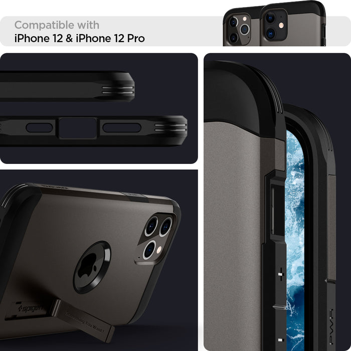 Spigen Tough Armor Case for Apple iPhone 12 / 12 Pro 6.1""