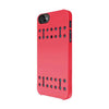 Hybrid Snap Case + Attachable Handstrap for iPhone 5/5S