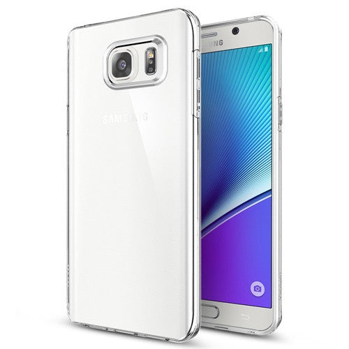 Samsung Galaxy Note 5 Case, Spigen Liquid Crystal - ICONS