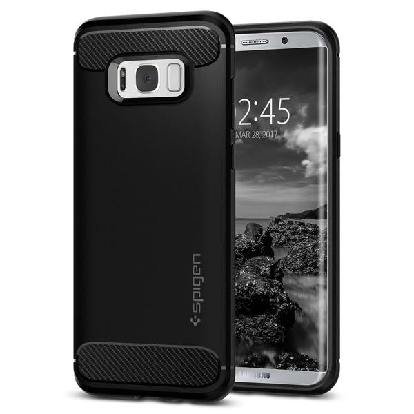 Rugged Armor Case for Samsung Galaxy S8 Plus