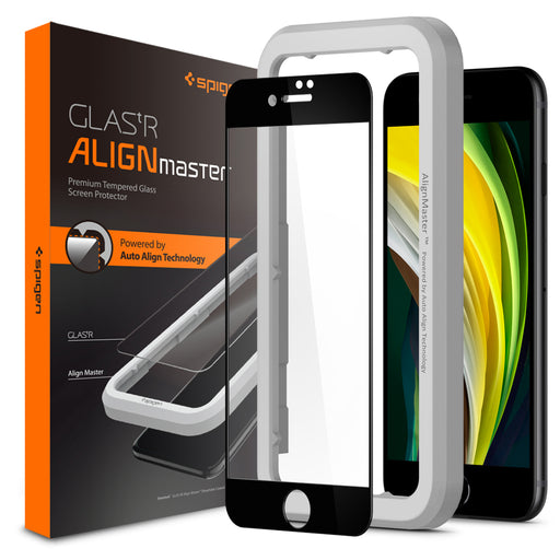 Spigen Glass Protector AlignMaster for iPhone SE 2020 / iPhone 8 / iPhone 7