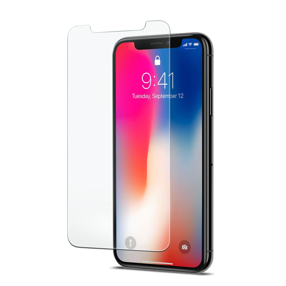 GLAS.tR SLIM HD Protector (Rounded Edges) for Apple iPhone X