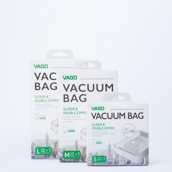 VAGO Vacuum Bag for Travel Compressor - ICONS