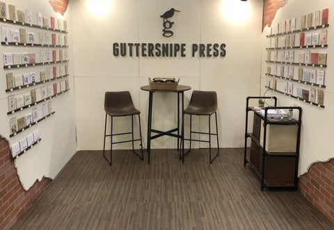 Guttersnipe Press, National Stationery Show 2019
