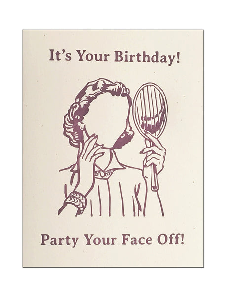 Party Your Face Off