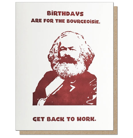 Marx Birthday