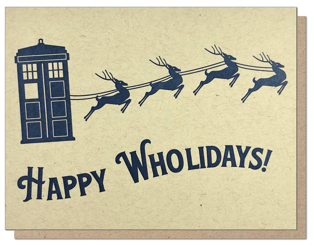 Happy Wholidays Card