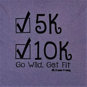 Achievements 10K, 5k - Chango Fitness Short Sleeve Shirt