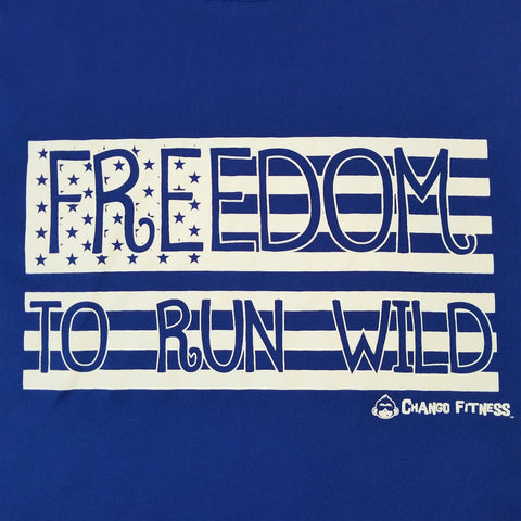 Freedom to Run Wild - Chango Fitness Short Sleeve Shirt