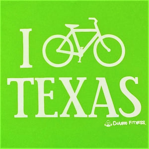 I Bike Texas - Chango Fitness Short Sleeve Shirt
