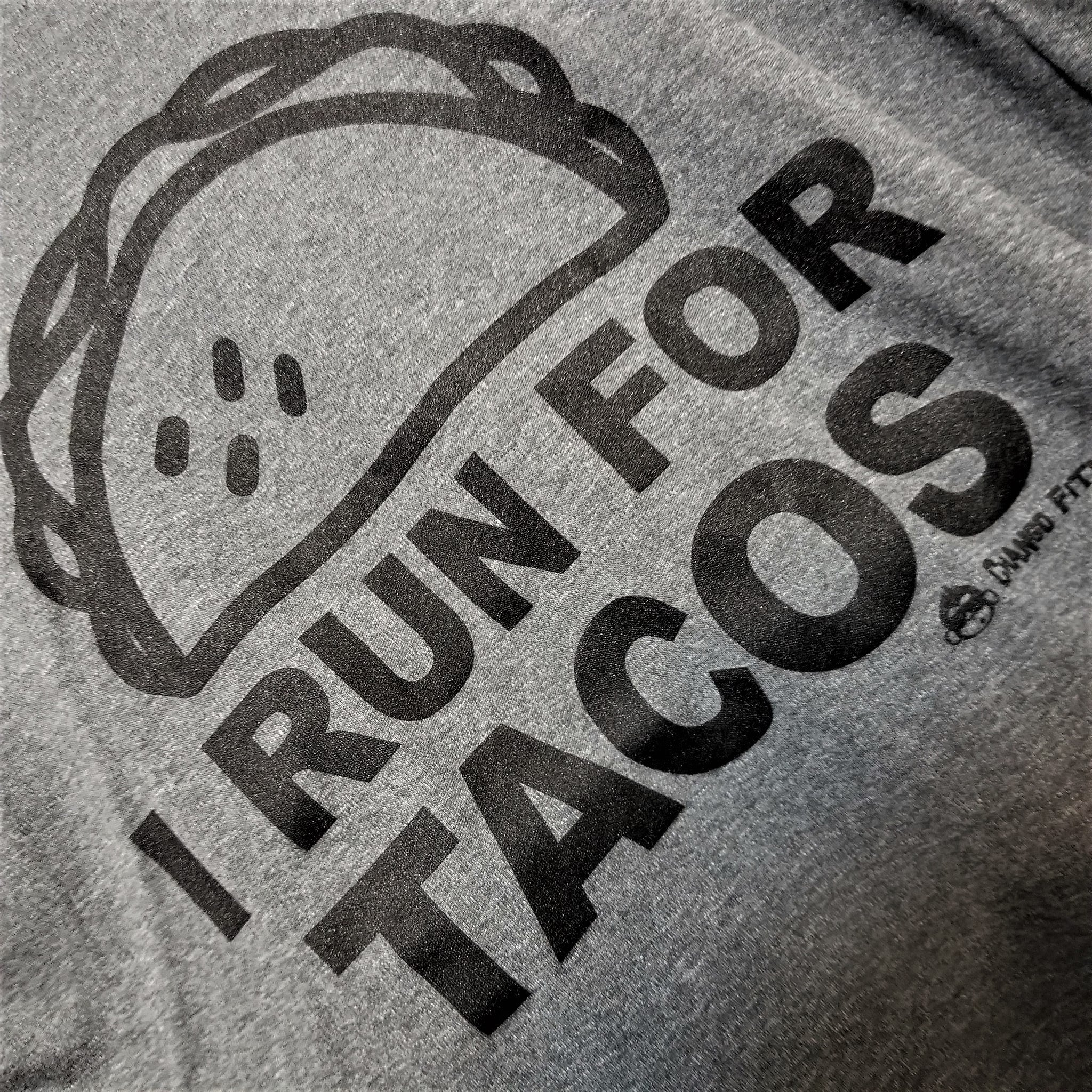 I Run For Tacos - Chango Fitness Short Sleeve Shirt