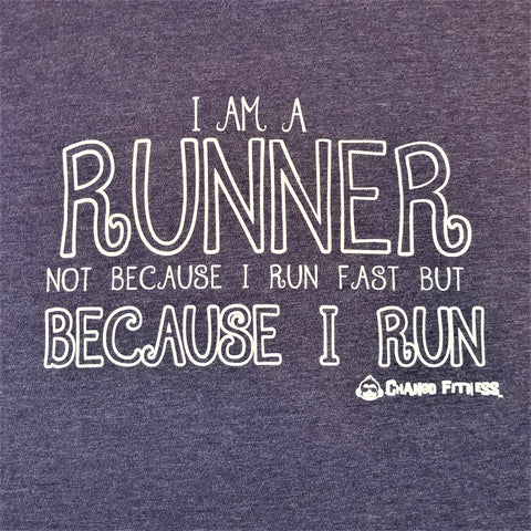 I am a Runner - Chango Fitness Short Sleeve Shirt