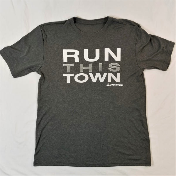 Run This Town - Chango Fitness Short Sleeve Shirt