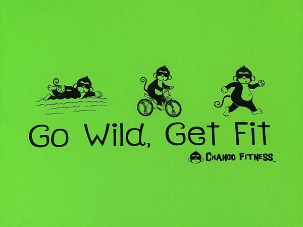 Go Wild Get Fit TRI - Chango Fitness Short Sleeve Shirt