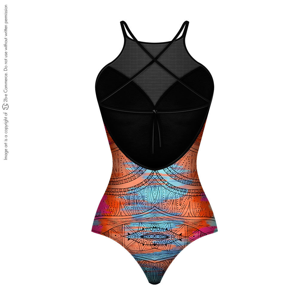 Lowla Swimwear 1201 OnePiece Compression Swimsuit For Women