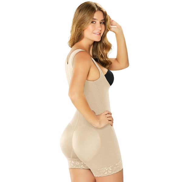 002406 Diane Faja Enterizo Short Powernet - Showmee