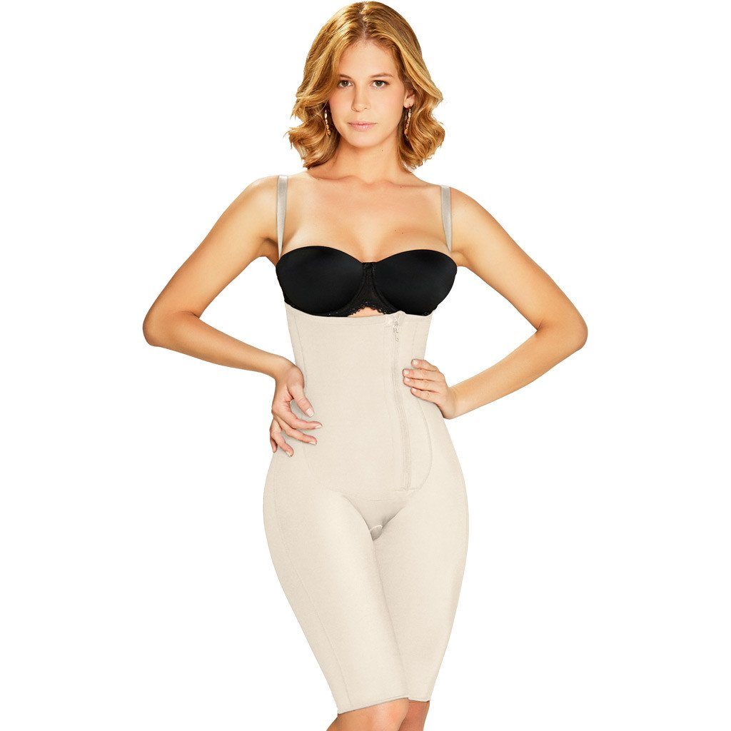 Diane & Geordi: 2380 - Colombiana Short Body Shaper With Zipper - Showmee Store