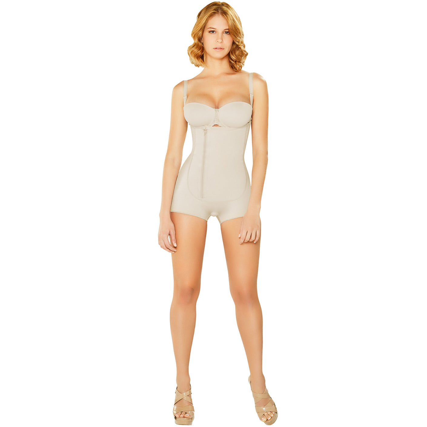 Fajas Diane & Geordi 2381 Colombiana Braless Boyshort