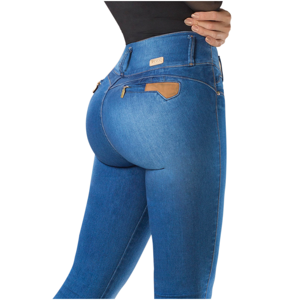 Draxy Women Butt Lifting Colombian Shaping Wonder Booty Jeans