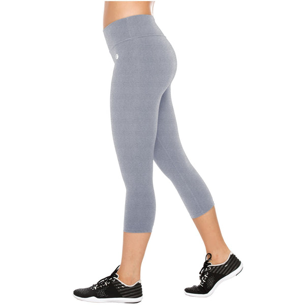 Flexmee 944201 Liberty Capri Polyester Activewear Workout Pants Trousers - Showmee