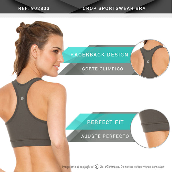 Flexmee 902803 Crop Bra Sports Bra Sportswear - Showmee