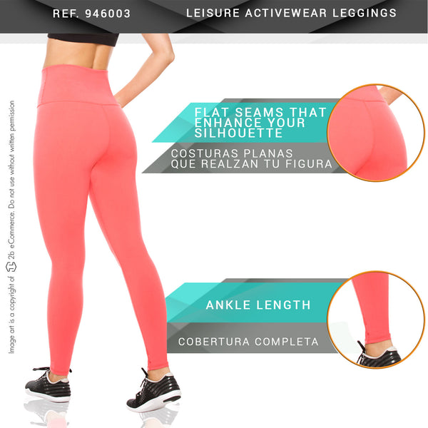 Flexmee 946003 Leisure Leggings  Activewear Workout Pants Trousers - Showmee