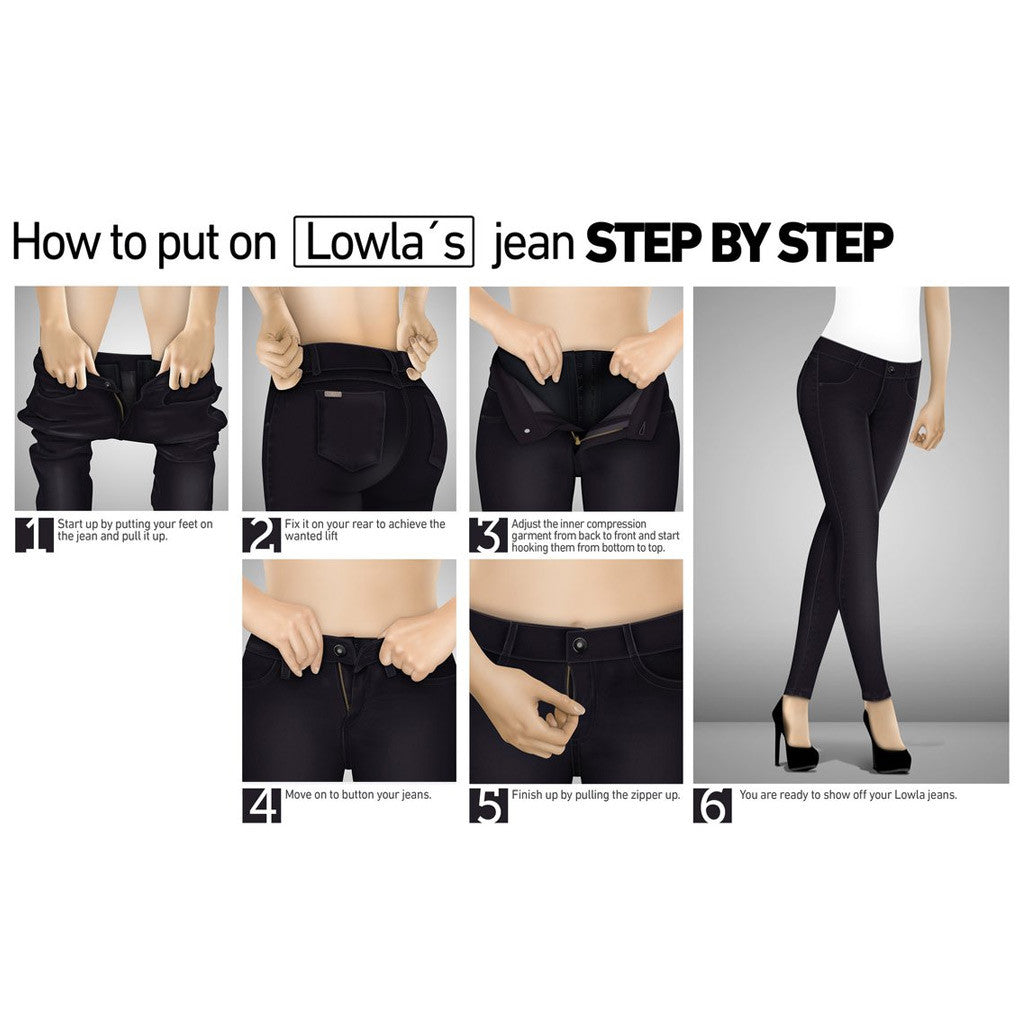 Lowla 218300 - 218235 - Jeans with Compression