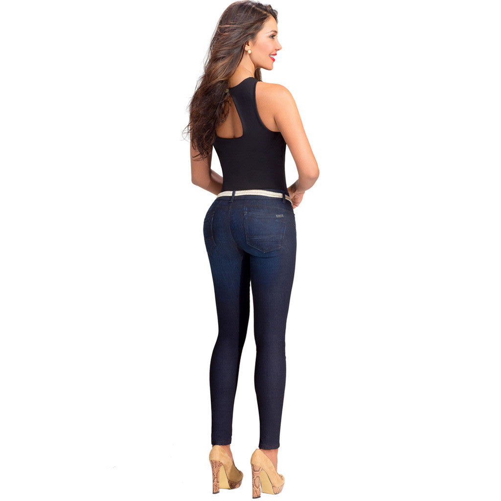 Lowla Butt Lifter Compression Jeans 218236