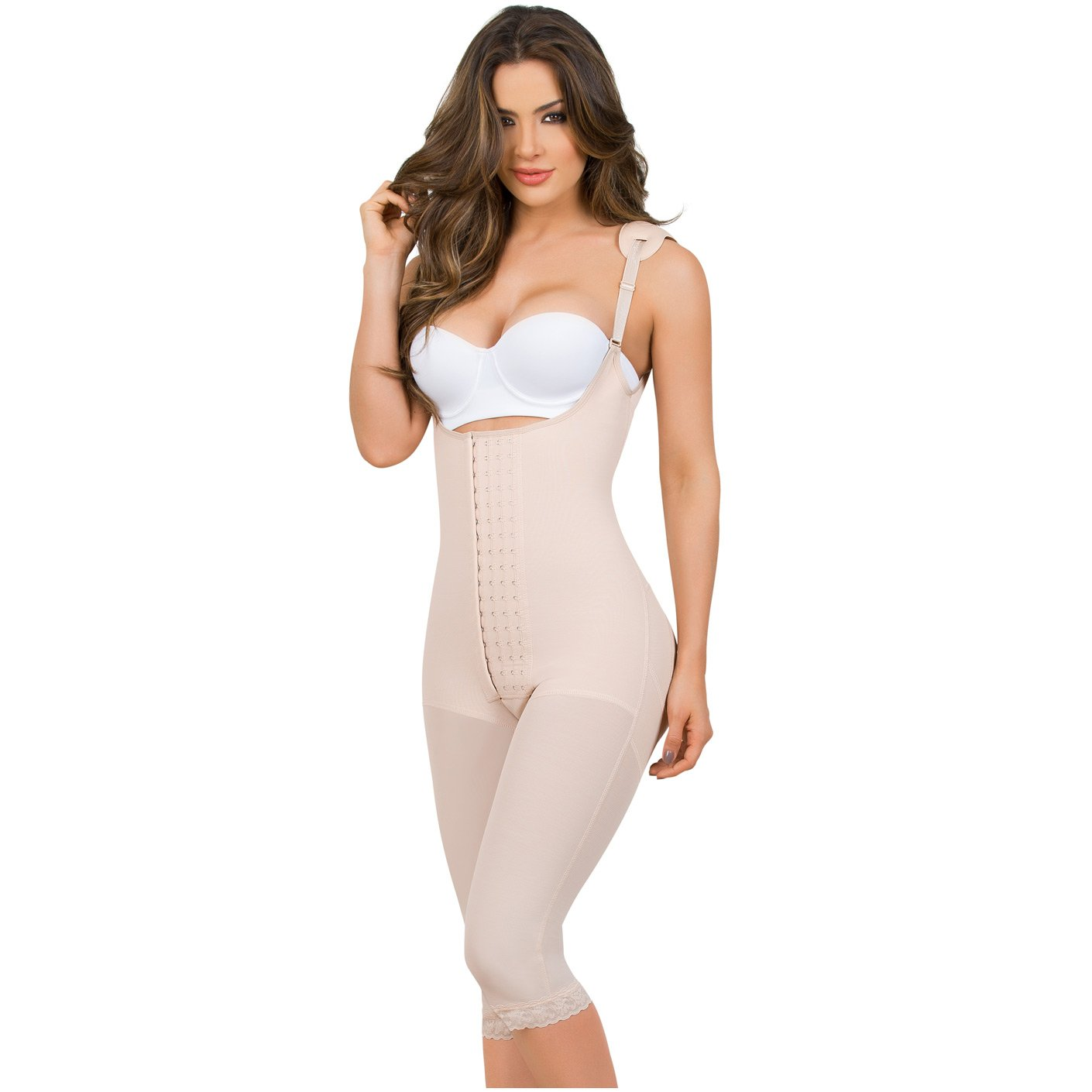 471d50cd6b052 MariaE 9152 Postoperative Women s Shapewear with Shoulder Pads - Pal Negocio